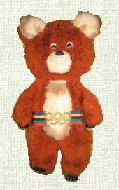 mascot olympic games 1980 Moscow