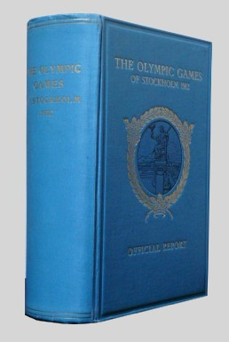 official report olympic games 1912 stockholm