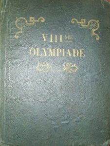official report olympic games 1924 paris