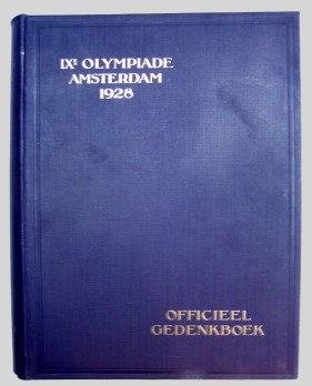 official report olympic games 1928 amsterdam