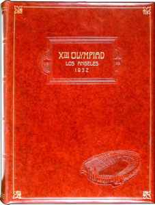 official report olympic games 1932 los angeles