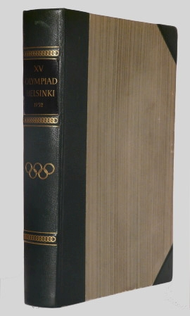 official report olympic games 1952 helsinki