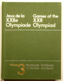 official report olympic games 1980 Moscow