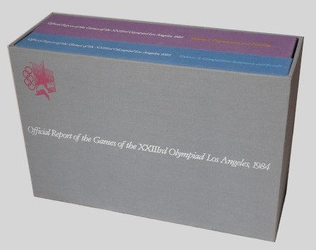 official report olympic games 1984 los angeles
