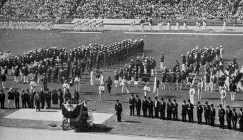 olympic games 1932 los angeles opening ceremony