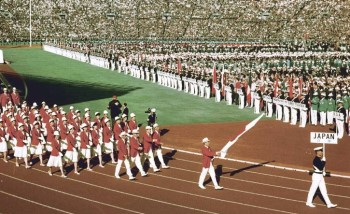 olympic games 1964 Tokyo opening ceremony