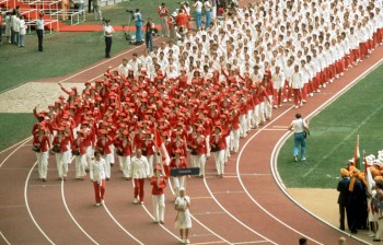 olympic games 1976 Montreal opening ceremony