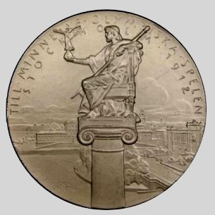 Olympic participation Medal 1912 Stockholm