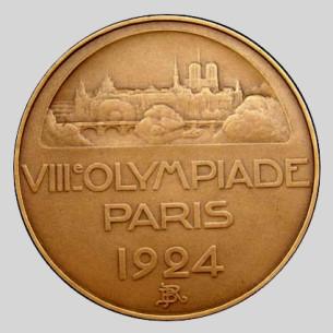 Olympic participation Medal 1924 Paris
