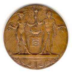 participation medal 1928 Amsterdam Olympic Games