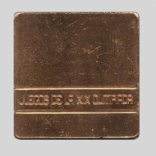 Olympic Participation Medal  1968