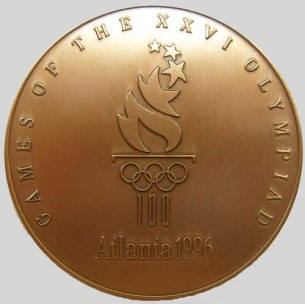 Olympic participation medal 1996