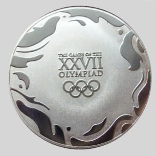 Olympic participation medal 2000