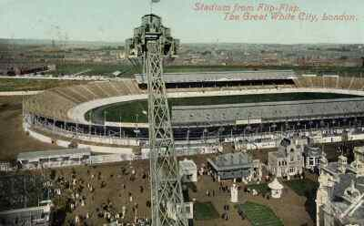 picture postcard olympic games 1908 london