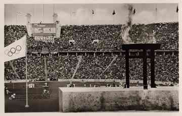picture postcard olympic games 1936 Berlin