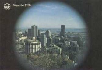 picture postcard olympic games 1976 Montreal