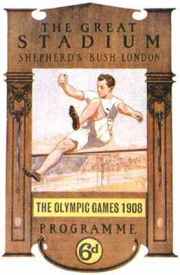 poster olympic games 1908 london