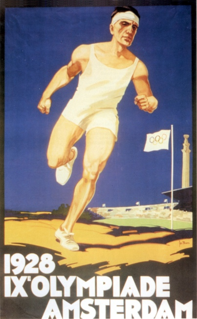 poster olympic games 1928 amsterdam