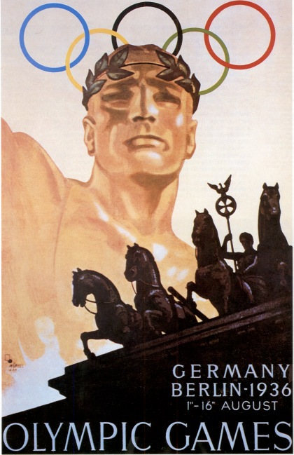 poster olympic games 1936 berlin