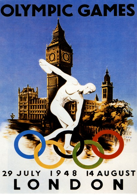 poster olympic games 1948 london
