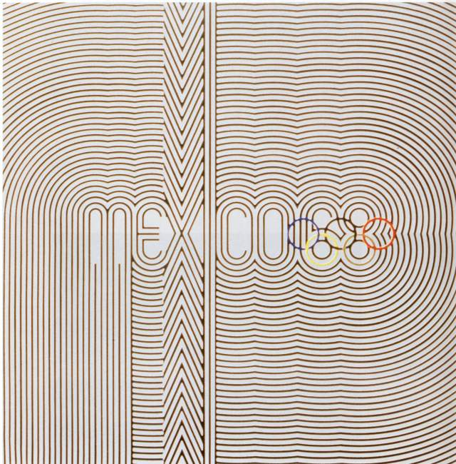 poster olympic games 1968 mexico city