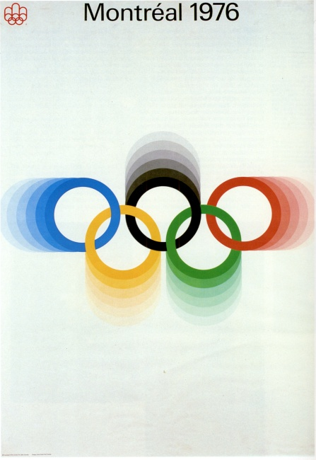 poster olympic games 1976 montreal