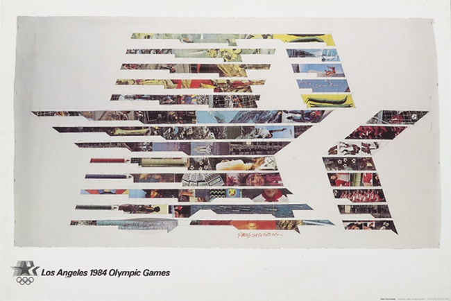 poster olympic games 1984 los angeles