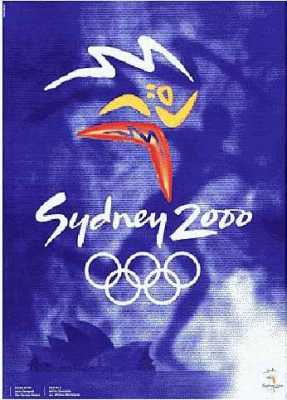 poster olympic games 2000 sydney
