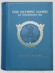 olympic games  official report 1912 Stockhom