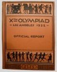 olympic games  official report 1932 Los Angeles