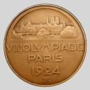 olympic games  participation medal 1924 Paris