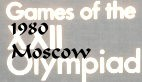 olympic games 1980