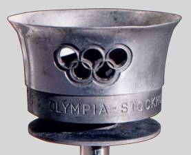 olympic games torch 1956 stockholm