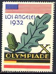 vignette olympic games 1932 los angeles