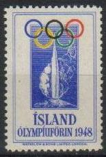 vignette olympic games 1948 london