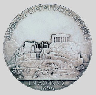 olympic games winner medal 1896 athens