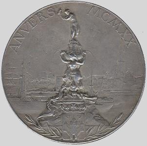 Olympic winner medal 1920
