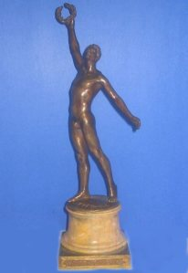 the victorious athlete olympic gmes 1920 antwerp
