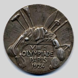 Olympic winner medal 1924