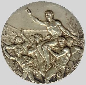 Olympic winner medal 1928