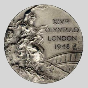 olympic winner medal 1948 London