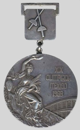 olympic winner medal 1968 Mexico City