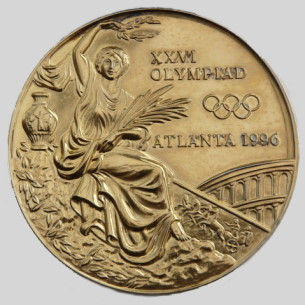 Olympic winner medal 1996