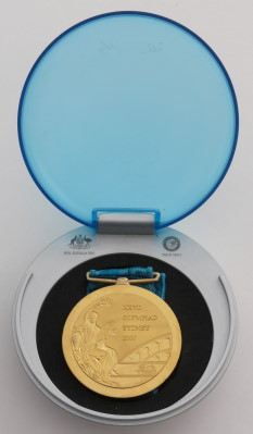 winner medal olympic games 2000 sydney