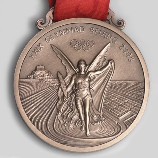 olympic games winner medal 2008 Beijing