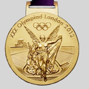 olympic winner medal 2012 London